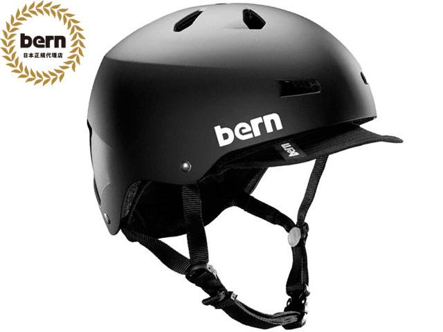【国内正規品】 バーン bern メイコン MACON VISOR ALL SEASON MATTE BLACK メイコン バイザー マット ブラック 自転車 スケートボード BMX ピスト ヘルメット