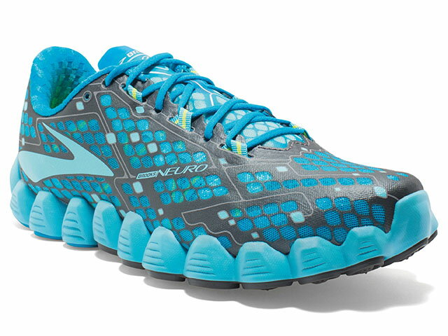 ブルックス brooks - <レディース>ニューロ 460 水色/青/黄 NEURO Atomic Blue/Bluefish/Nightlife ランニング RUNNING 【smtb-m】