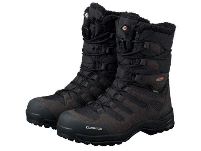 キャラバン Caravan - スノーキャラバン SHC_10 ブラック SNOW CARAVAN black ウィンターブーツ WINTER BOOTS 【smtb-m】