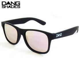 【国内正規品】 DANG SHADES サングラス LOCO ロコ Black Soft x Rose Mirror ローズレンズ ミラーレンズ ダンシェイディーズ サングラス トイサングラス