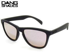 【国内正規品】 DANG SHADES サングラス ORIGINAL RAISED オリジナル レイズド Black Soft x Rose Mirror ミラーレンズ ダンシェイディーズ サングラス トイサングラス