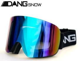 国内正規品 DANG SNOW スノーゴーグル TWENTY20 Black x Xtreme Green Mirror トゥエンティ・トゥエンティ ダンシェイディーズ トイサングラス メンズ レディース ユニセックス スノー スケート 自転車 アウトドア スノーボード スキー バイク UVカット