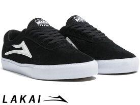 【国内正規品】 Lakai 【定番モデル】 SHEFFIELD BLACK SUEDE シェフィールド ブラック スエード ラカイ スケート SKATE スニーカー