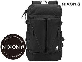 【国内正規品】 ニクソン NIXON スクリプス バックパック オールブラック ナイロン Scripps Backpack All Black Nylon C2949-1148-00 リュック アウトドア スケート ストリート メンズ レディース