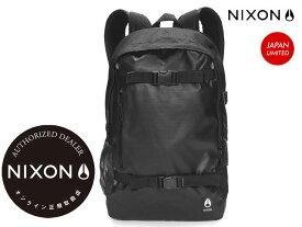 国内正規品 ニクソン NIXON日本限定商品スミス3 SMITH3 BACKPACK ALL BLACK ブラック 黒 C2815-000-00 SMITHIII スミスIII バックパック バッグ リュック アウトドア スケート ストリート メンズ レディーズ JAPAN LIMITED