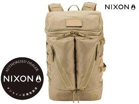 【国内正規品】 ニクソン NIXON -【新作】バックパック スクリプス SCRIPPS BACKPACK GT NC29022989-00 COVERT コバート ベージュ リュック バッグ