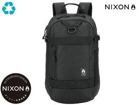 【国内正規品】 ニクソン NIXON ガンマ バックパック リュック ブラック 黒 Gamma Backpack Black C3024000-00 リュック アウトドア スケート ストリート サーフィン メンズ レディース 22L