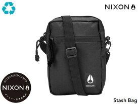 NIXONステッカープレゼント! 国内正規品 ニクソン NIXON スタッシュ バック ポーチ ボディバッグ ミニバッグ ブラック 黒 Stash Bag Black C3026000-00 リュック アウトドア スケート ストリート サーフィン メンズ レディース 1.5L