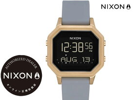 国内正規品 ニクソン NIXON Siren SS 36mm Light Gold/Gray Stainless Steel サイレン 腕時計 WATCH ウォッチ ライトゴールド/グレー A12113163-00 サーフ スポーツ ストリート トラベル 旅行
