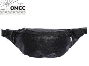 OMCC オーエムシーシー FUNNY PACK SHINING シャイニング Black ブラック 黒 ウエストポーチ ファニーパック ラウンド 折りたたみ コンパクト フェス アウトドア ボディバッグ おしゃれ かわいい カ