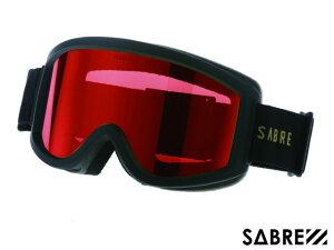【国内正規品】 セイバー SABRE ACID RIDER SVG1701BKRD MT BLACK/ORANGE/RED アシッドライダー ゴーグル マットブラック オレンジ レッド 黒/オレンジ/赤 スノーボード  ジャパンフィット ハードケース付