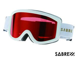 【国内正規品】 セイバー SABRE ACID RIDER SVG1702WTRD MT WHITE/ORANGE/RED アシッドライダー ゴーグル マットホワイト オレンジ レッド 白/オレンジ/赤 スノーボード  ジャパンフィット ハードケース付