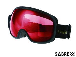 【国内正規品】 セイバー SABRE HIGH POINT SVG1703BKRD MT BLACK/ORANGE/RED ハイポイント ゴーグル マットブラック オレンジ レッド 黒/オレンジ/赤 スノーボード  ジャパンフィット ハードケース付 偏光
