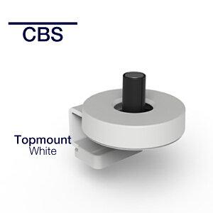 【メーカー在庫をお取り寄せ】CBS トップマウントクランプ ホワイト 天板の厚み13-25mmに対応 MM-DYN/013/C27/W