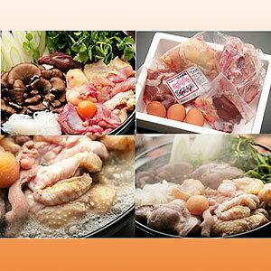 丸々一羽を新鮮お届け究極の鶏肉 比内地鶏鍋セット3人前#【HLS_DU】【RCP】【軽税】