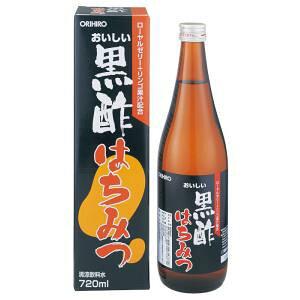 【期間限定】おいしい黒酢はちみつ 720mlボトル(飲みやすい清涼飲料水)【HLS_DU】【RCP】【軽税】