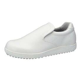 【コックシューズ】【白】【耐油・防水素材】アキレススニーカー クッキングメイト100 ホワイト 汚れがつきにくい 耐久性 厨房 調理 滑りにくい 疲れにくい 歩きやすい つま先ゆったり 男女兼用 履きやすい 厨房靴 コック靴 作業靴 定番 人気 食品関係