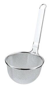みそこし 引掛付【かご部分:170xH110mm 取っ手220mm】16メッシュ 18-8ステンレス 衛生的 丈夫 業務用 調理道具 味噌汁 鍋にかけられる 定番 使いやすい