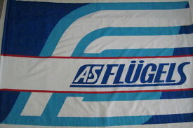 ※長期保管品のため在庫処分価格※ Jリーグ AS FLUGELS フリューゲルス 特大フラッグ