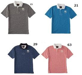 45%OFF! カンタベリー【CANTERBURY】ラガーシャツ S/S RUGGER SHIRT 半袖ポロシャツ RA36177