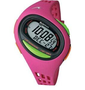 soma【ソーマ】RUNONE 100 SL MEDIUM ピンク ランニングウォッチ より薄く・軽快に♪ DWJ090003