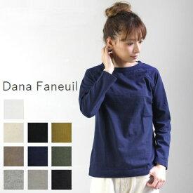 【一部予約商品】 【定番商品】 Dana Faneuil(ダナファヌル)ムラ糸ラグラン P/O 長袖 10colormade in japand-5816401【Re】