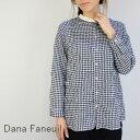 Dana Faneuil(ダナファヌル)スタンド リラックス シャツ made in japand-6317107-c