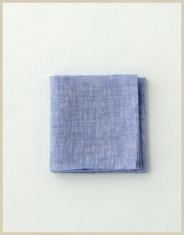 ★ immediate delivery ★ ◆! • Linen handkerchiefs fog linen work (foglinenwork) cyan