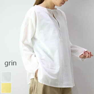 MAX3000 Japanese yen OFF! 75 hours-limited coupon 3/12(Tue) 19:00 - 3/15 (Fri) 22:59 grin (Glyn) Cadiz Ritt pullover 2color made in japan 8191t-007