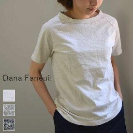 【定番商品】【当店別注BIGサイズあり】 Dana Faneuil プレミアム ムラ糸ラグラン 半袖 T 5colord-5616509【Re】