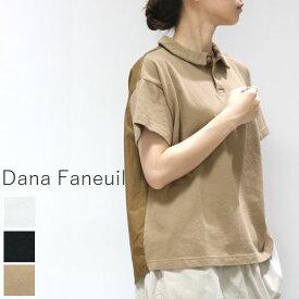 【MAX15%OFF】お盆休み Scamp感謝祭クーポン8月10日(Mon)0:00〜8月15日(Sat)23:59  Dana Faneuil(ダナファヌル)後身布帛 ポロシャツ 3colormade in japand-5620214