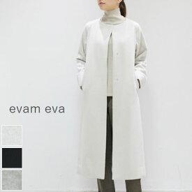 evam eva(エヴァムエヴァ)wool raglan long coat 3colormade in japane193t130