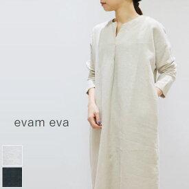 evam eva(エヴァムエヴァ)drop shoulder tuck OP 2colormade in japanv201t902 【spsu】