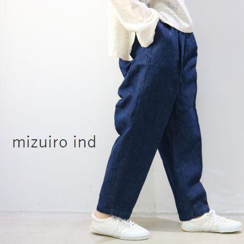MAX43倍&5%・10%OFFクーポンお買物マラソン4月22日(Mon)20:00〜4月26日(Fri)1:59 mizuiro ind (ミズイロインド)mizuiro-ind.denim center press PTmade in japan1-268314