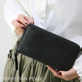 CHRISTIAN PEAU(クリスチャン ポー)LEATHER WALLETb-004