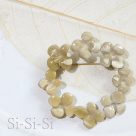Si-Si-Si(スースースー) BROOCHFLOWER RING made in Japann-149