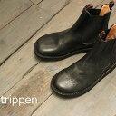 【クーポン対象外】 trippen(トリッペン) CHELSEA/ サイドゴア ショートブーツ chelsea-pub-32-bk-2【正規取扱店】