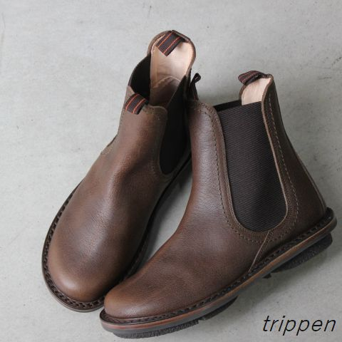 trippen(トリッペン) CHELSEA/ サイドゴア ショートブーツ chelsea-pub-52-h【正規取扱店】