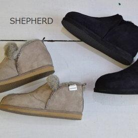【40%OFF Sale】SHEPHERD (シェパード)NICOLE アンクルカットムートンブーツ 2color s2400