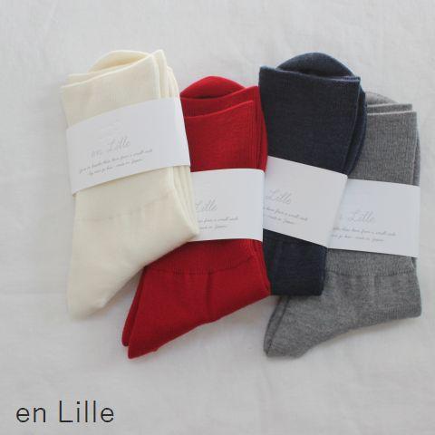 ★ポスト便無料★ en Lille (リーレ)tomosubi ともすび ソックス 4colorel-17313