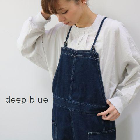 deep blue(ディープブルー)ガーデニング サロペットmade in Japan72815