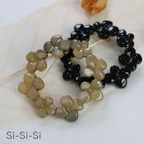 【予約商品】 【クーポン対象外】 Si-Si-SIBROOCHFLOWER RING 2color made in Japann-149