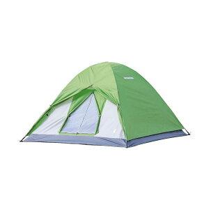 省スペース 少人数 小さめ CAPTAIN STAG キャプテンスタッグ クレセント 3人用ドームテント グリーン UA-0049 組み立て簡単 コンパクト キャンプ アウトドア 軽量 同梱不可