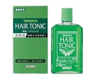 所有点 3 倍 ~ ♪ 柳家头发滋补 (240 毫升) 头发损失预防可以从头发的提高