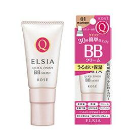 コーセー エルシア(ELSIA) プラチナム クイックフィニッシュ BBクリーム モイスト UV SPF26/ PA++ 01 明るめの肌色(35g)