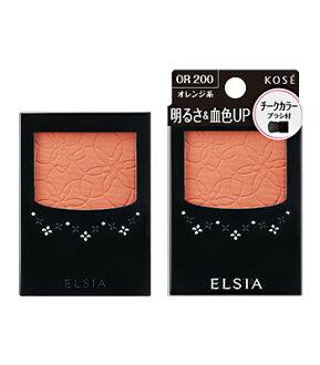 Bright Platinum elacia Kose (ELSIA), & blood color up cheek RD401(3.5g)