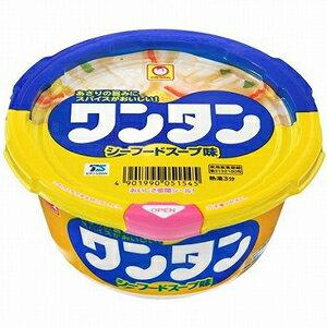 【訳あり】 賞味期限:2018年8月22日 東洋水産 マルちゃん ワンタン シーフードスープ味 (33g) インスタントカップスープ