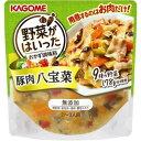 【訳あり】 賞味期限:2020年3月16日 カゴメ 野菜がはいったおかず調味料 豚肉八宝菜 (210g) 調味料