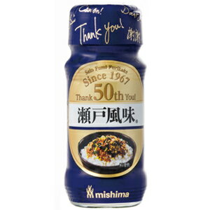 【訳あり】 賞味期限:2018年6月21日 三島食品 発売50周年記念パッケージ 瀬戸風味 (22g) 瓶 ふりかけ