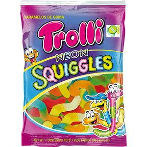 【訳あり】 賞味期限:2020年6月24日 トローリ ネオン スクイーグルス (100g) グミ 輸入菓子